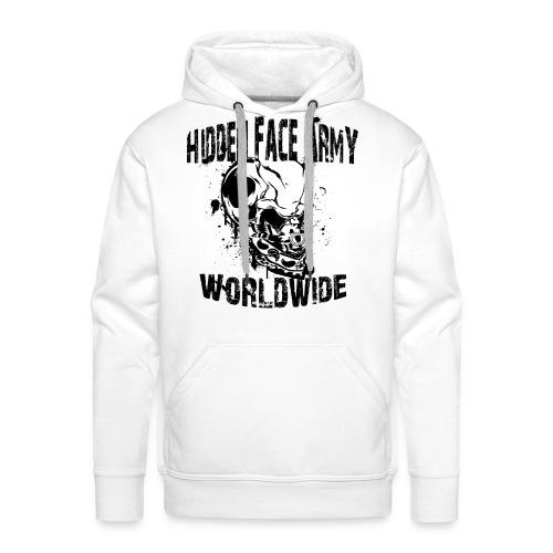 HFA Pullover / LOGO schwarz - Männer Premium Hoodie
