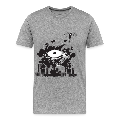 T-shirt boom-city - Maglietta Premium da uomo