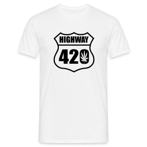 highway 420 feuille T-Shirts - Männer T-Shirt