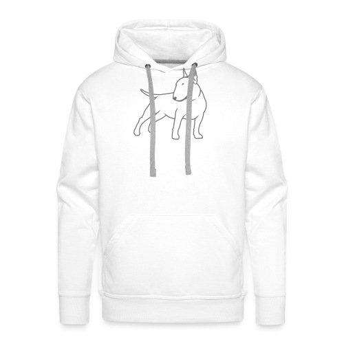 Bull Terrier CN single 1c 4light - Men's Premium Hoodie
