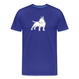 Bull Terrier CN single 1c 4dark - Men's Premium T-Shirt