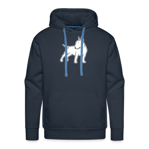 Bull Terrier CN single 1c 4dark - Men's Premium Hoodie