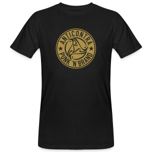 AntiContra Gold Nugget - Männer Bio-T-Shirt