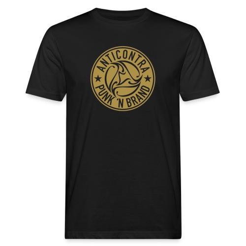 AntiContra Gold Nugget - Männer Bio-T-Shirt