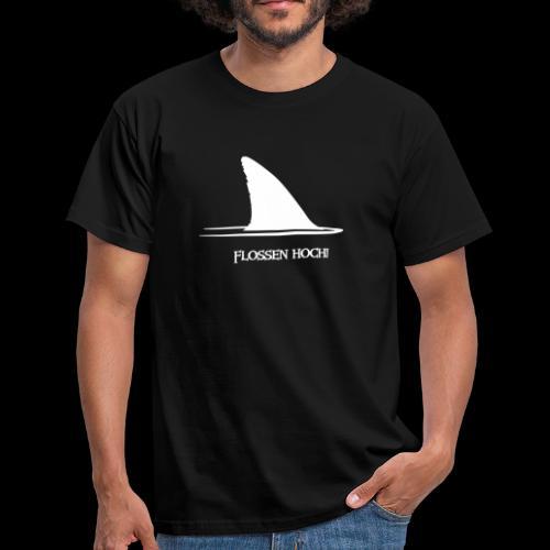 Flossen hoch! - Männer T-Shirt