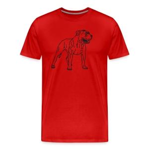 barker - Men's Premium T-Shirt
