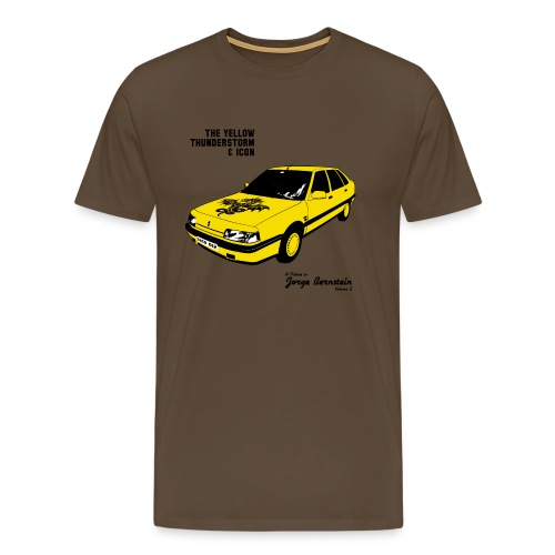 The Yellow Thunderstorm & Icon Homme - T-shirt Premium Homme