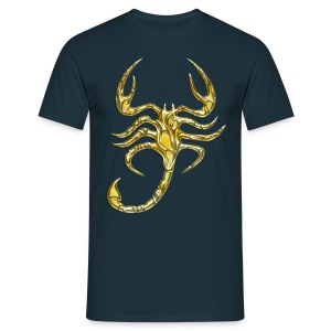 Scorpion, digital, Scorpio, gold Tee shirts - T-shirt Homme
