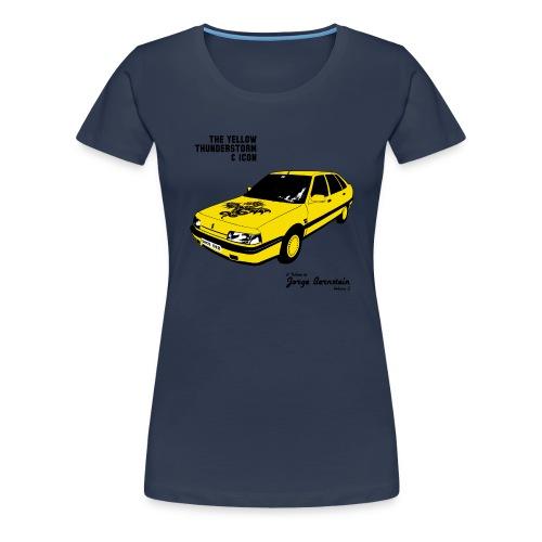 The Yellow Thunderstorm & Icon Femme - T-shirt Premium Femme