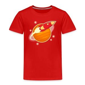Red Rocket-Ranger - Kids' Premium T-Shirt