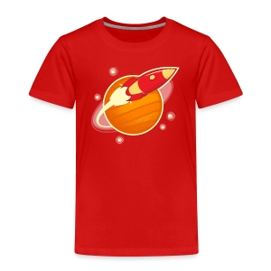 Red Rocket-Ranger - Kids' Premium T-Shirt