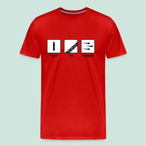 Pömpel, Patt & Pillepoppen - bis 5XL - Männer Premium T-Shirt