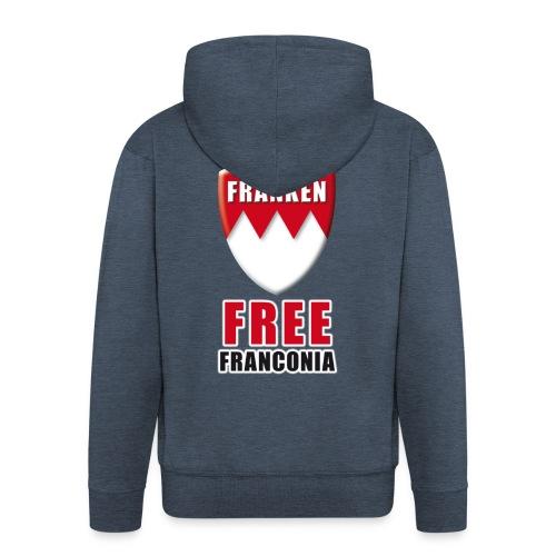 Hoodie Free Franconia - Männer Premium Kapuzenjacke