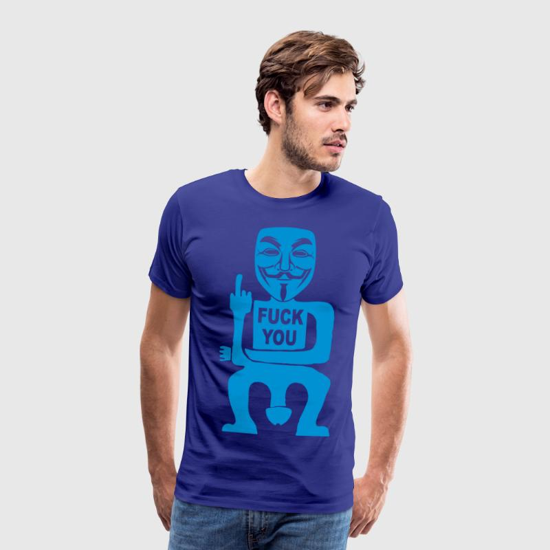 fuck you T-Shirts - Men's Premium T-Shirt