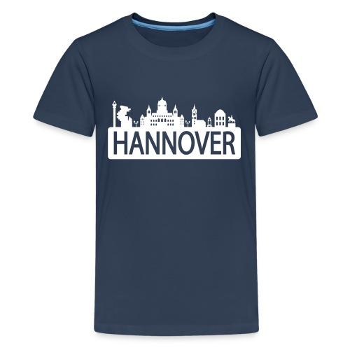 T-Shirt für Jannick - Skyline Hannover - Teenager Premium T-Shirt