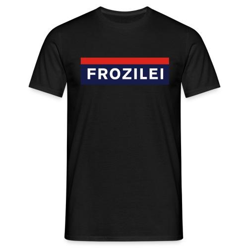FROZILEI - POLIZEI - Männer T-Shirt