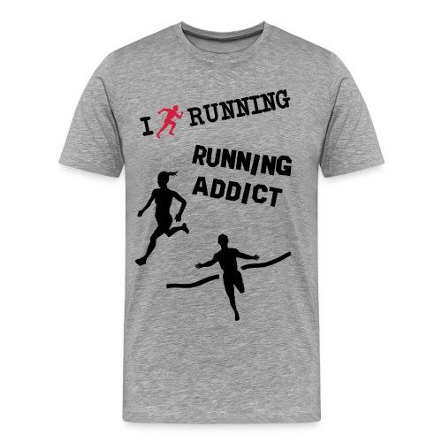 Running power - Camiseta premium hombre