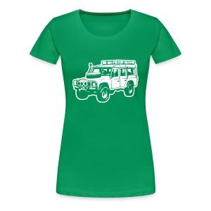 Land Rover Defender - Frauen Premium T-Shirt