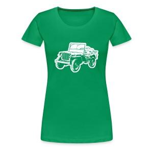 Willys Jeep - Frauen Premium T-Shirt