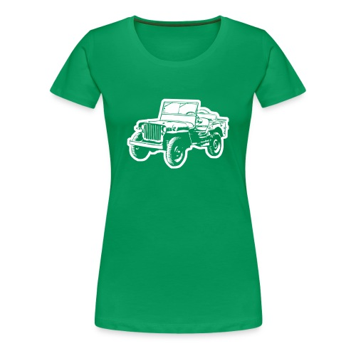 Willys Jeep - Frauen Premium T-Shirt