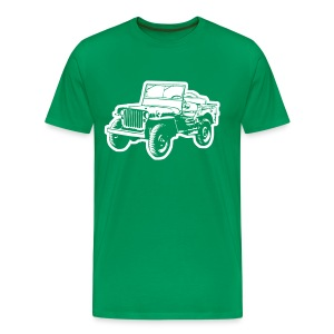 Willys Jeep - Männer Premium T-Shirt