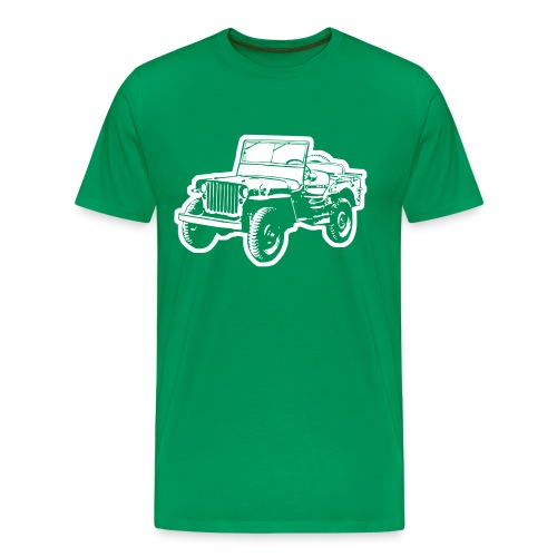Willys Jeep - Männer Premium T-Shirt