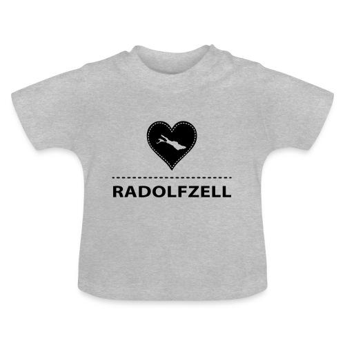 BABY Radolfzell flex schwarz - Baby T-Shirt