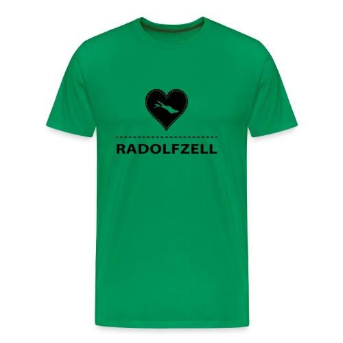 MEN Radolfzell flex schwarz - Männer Premium T-Shirt