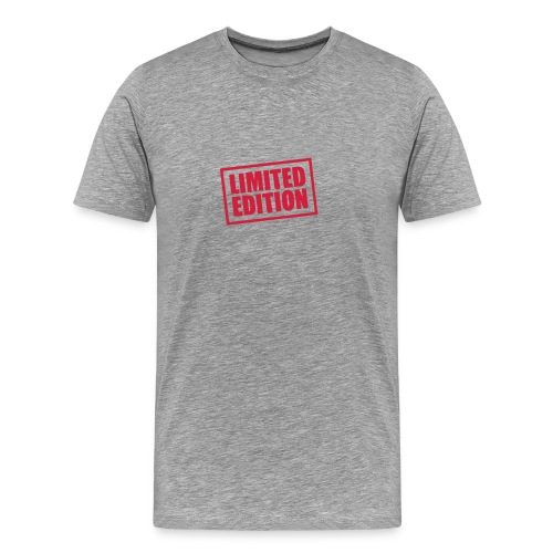 Limited Edition T-tröja - Premium-T-shirt herr