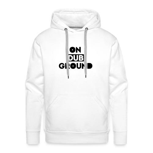 Ondubground - SWEAT - Sweat-shirt à capuche Premium pour hommes