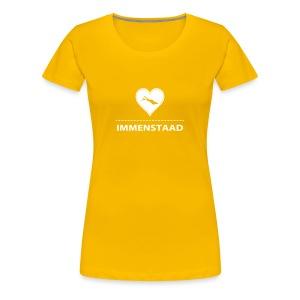WOMEN Immenstaad flex weiß - Frauen Premium T-Shirt