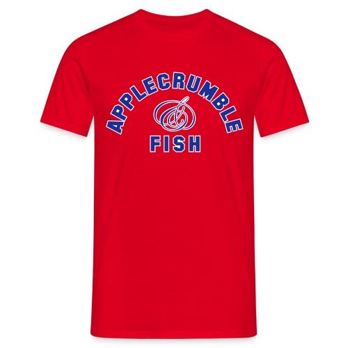 Applecrumble & Fish - Men's T-Shirt