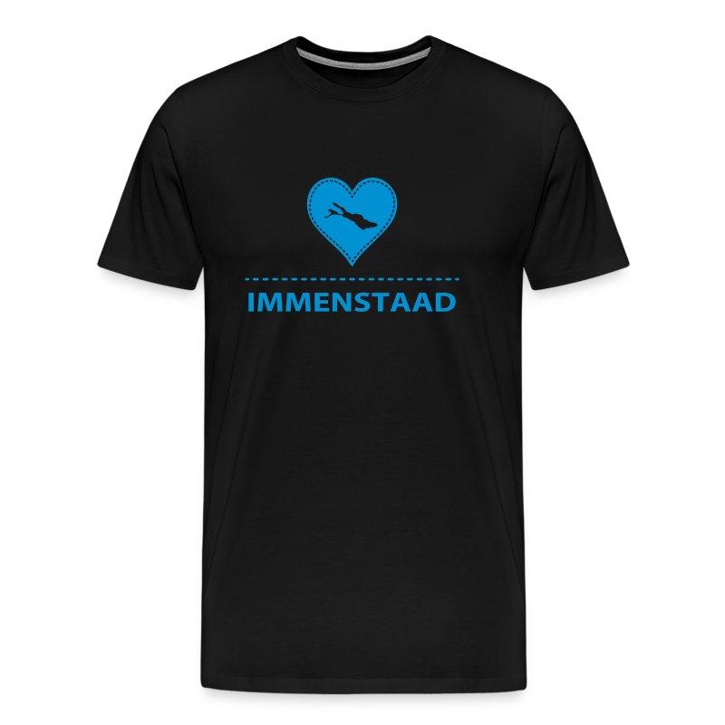 MEN Immenstaad flex blau - Männer Premium T-Shirt
