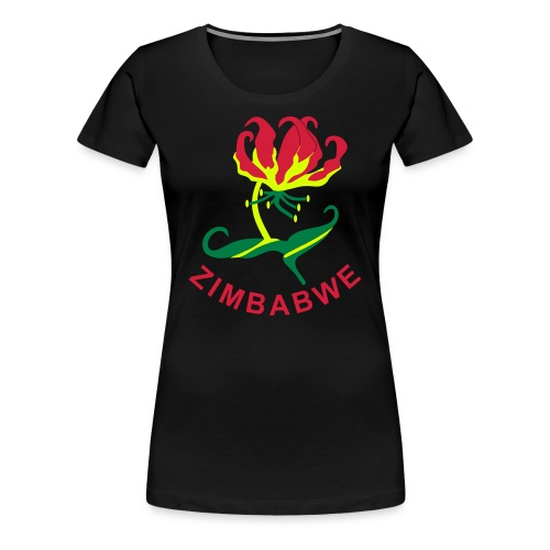 Flame Lily Zimbabwe - Women's Premium T-Shirt