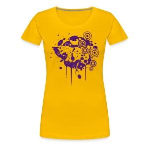 Zimbabwe Grunge - Women's Premium T-Shirt