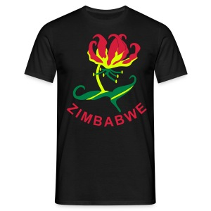 Flame Lily Zimbabwe - Men's T-Shirt