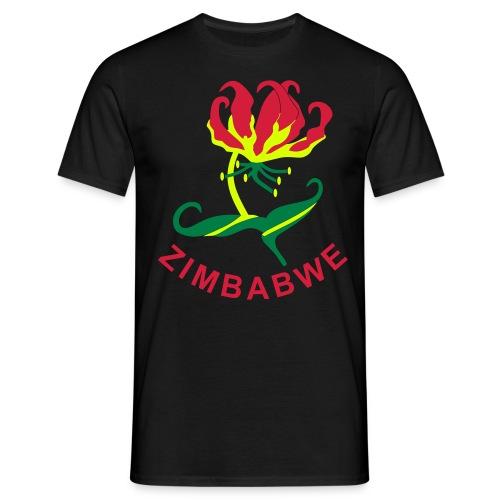 Flame Lily Zimbabwe - Men's T-Shirt