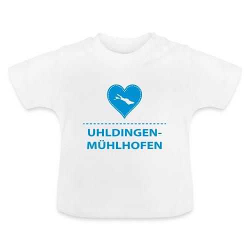BABY Uhldingen-Mühlh. flex blau - Baby T-Shirt