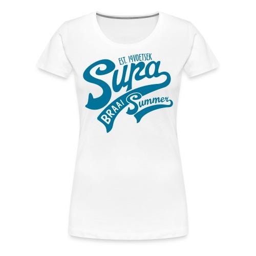 Supa Braai - Women's Premium T-Shirt