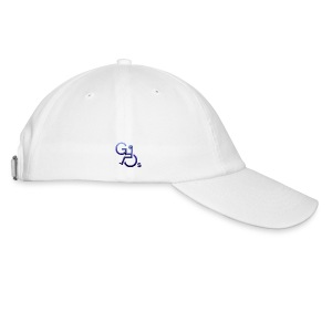 Baseball Cap - Baseball cap with logo on front, GOs tag on right and text on left