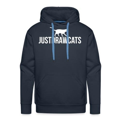 JustDrawCats Mannen Sweater - Mannen Premium hoodie