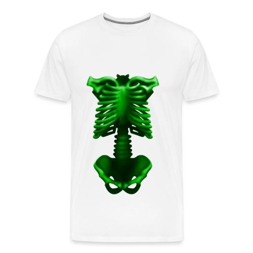 scheletro - Maglietta Premium da uomo