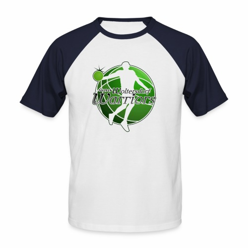 2-colored T-Shirt - Männer Baseball-T-Shirt