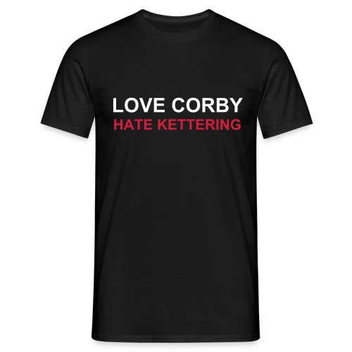 Love Corby Hate Kettering - Men's T-Shirt