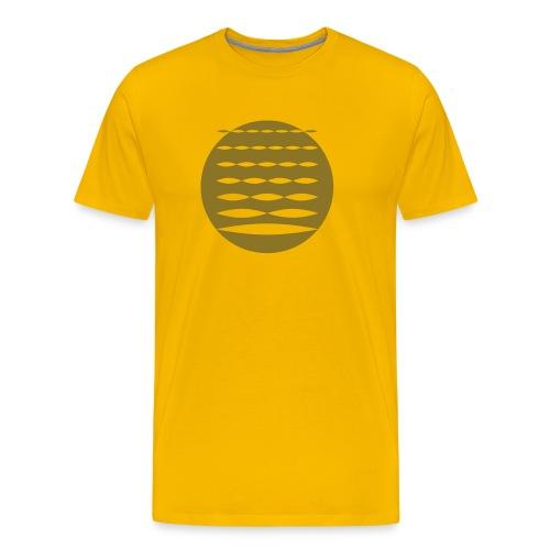 Overtone-Symbol Shirt Men - Männer Premium T-Shirt