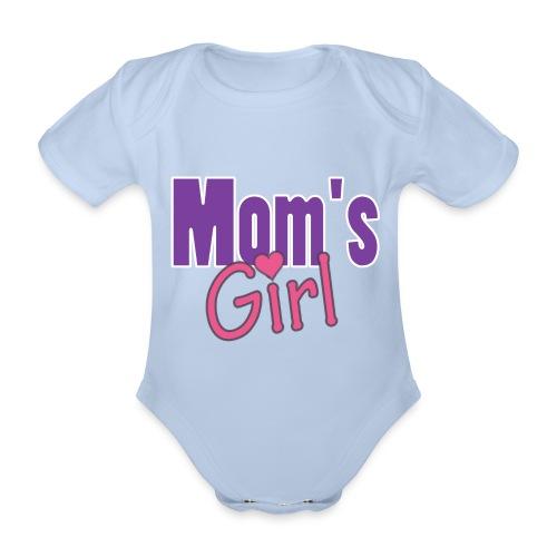 Mamma Pappa - Ekologisk kortärmad babybody