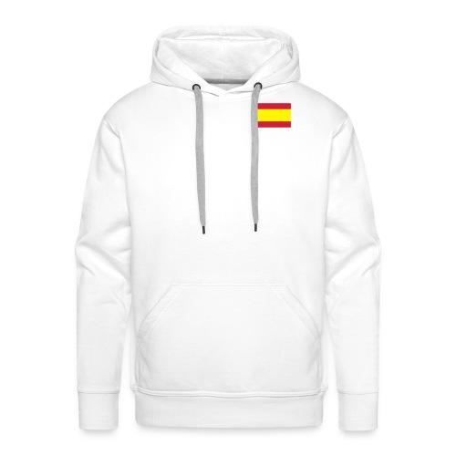 Spania hoodie - Premium hettegenser for menn