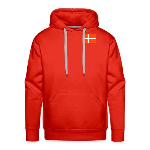 Danmark hoodie - Premium hettegenser for menn