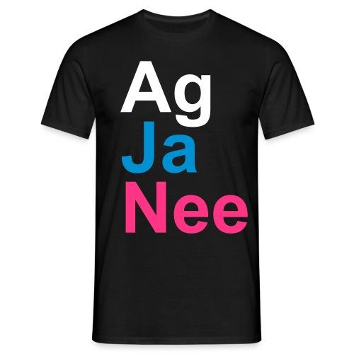 Ag, Ja, Nee - Men's T-Shirt