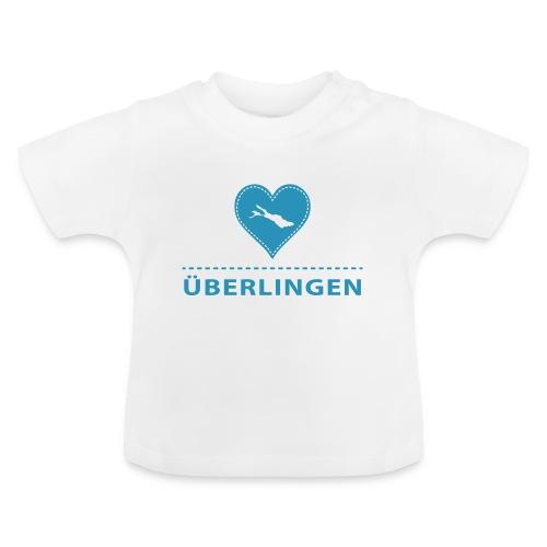 BABY Überlingen flock blau - Baby T-Shirt